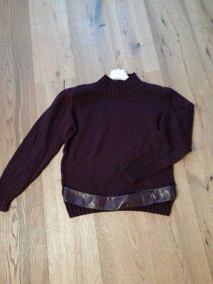 Bandolera Sweater bordeaux