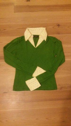 Pullover mit hemdoptik