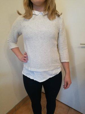 Pullover mit integrierter Bluse