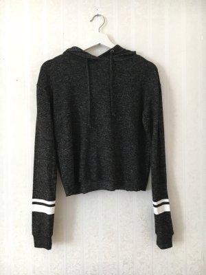 C&A Jersey con capucha negro-blanco