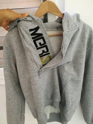Abito maglione grigio chiaro
