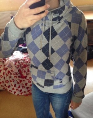 Pullover mit Karo-Muster
