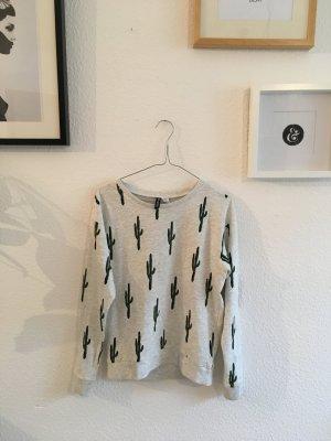 Pullover mit kleinen Kakteen