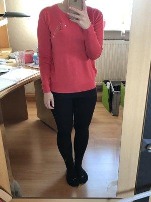 Pullover mit Knöpfen hinten