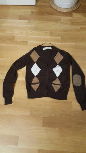 Pullover mit Knöpfen im Schottenstyle von Zara