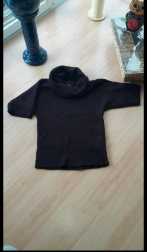 3 Suisses Sweater bruin-paars