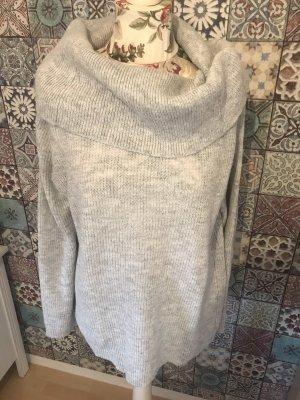 Esprit Jersey de lana gris-gris claro