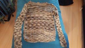 Pullover mit kurzem Reißverschluss am Rücken