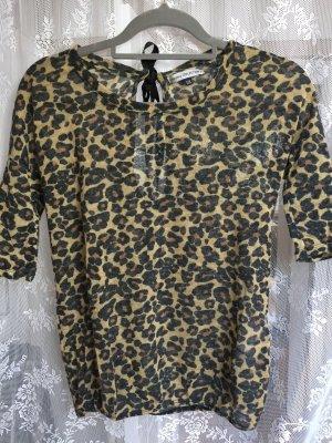 Pullover mit Leoparden Print