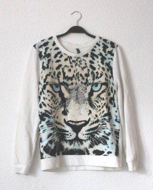 Pullover mit Leopardenprint