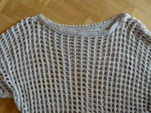Pullover mit Lochmuster one size