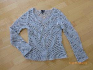 Pullover mit Lochmuster von H&M, Gr. S