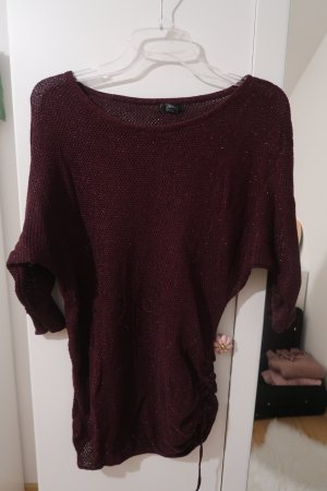 Ann Christine Knitted Sweater dark violet