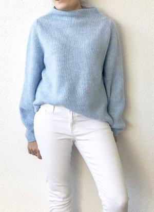 Anine Bing Jersey de punto grueso azul celeste