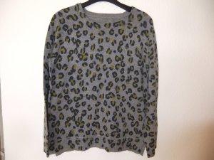 Pullover mit Mohairanteil in Leopardenlook