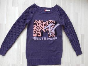 Pullover mit MTV- Logo