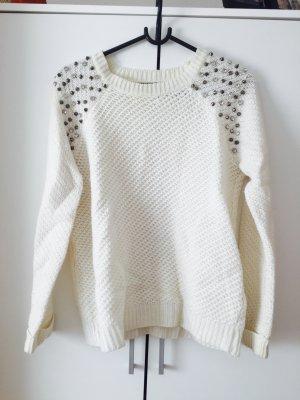 Pullover mit Nieten !