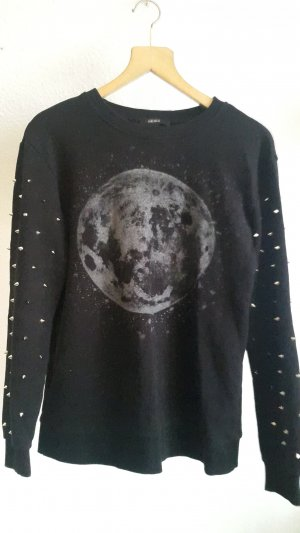 Pullover mit Nietenärmel