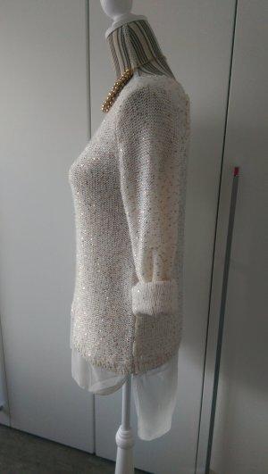 Pullover mit Pailetten