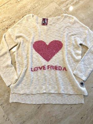 Pullover mit Pailletten von Frieda & Freddies