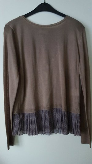 Pullover mit Plissee von kapalua