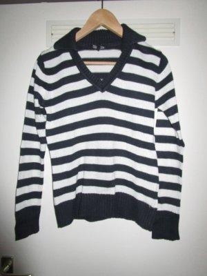 Pullover mit Polokragen Gr. 38