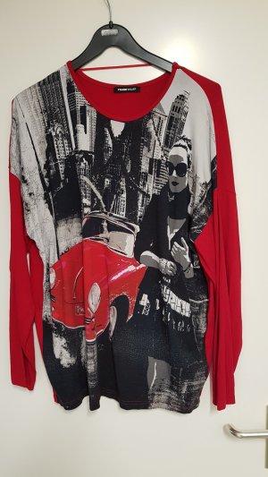 Pullover mit Print, langarm, 44