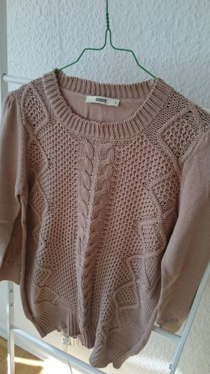Oasis Cable Sweater beige