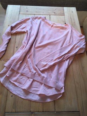Esprit Kraagloze sweater roze