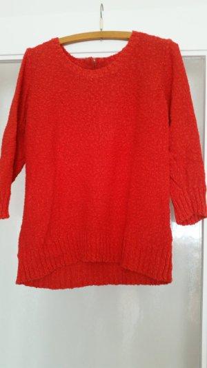 Pullover mit Reißverschluss hinten