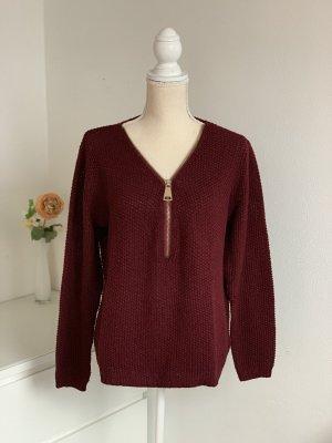 Pullover mit Reißverschluss von One Love