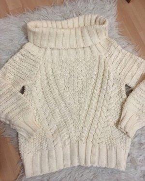 H&M Maglione bianco sporco