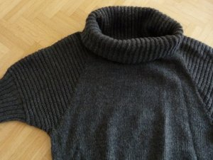 Pullover mit Rollkragen von Conbipel Größe M anthrazit Wolle