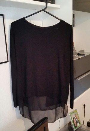 Pullover mit Rückenausschnitt Gr. M Chiffon H&M