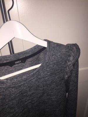 Pullover mit Rüschenapplikation