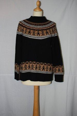 Pullover mit rundem Muster