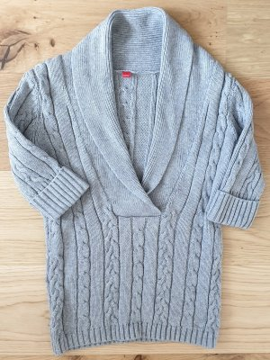 Esprit Cable Sweater light grey