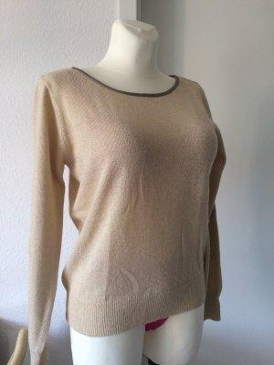 Pullover mit Schleife *Vila* gold Gr. L