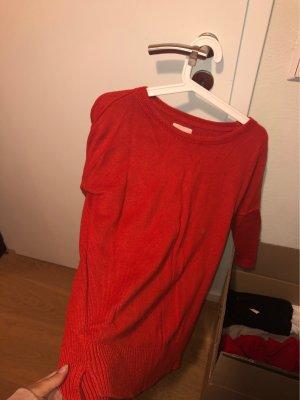 H&M Fleece Jumper red-dark red