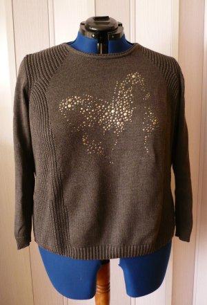 Pullover mit Schmetterlingapplikation von Olsen