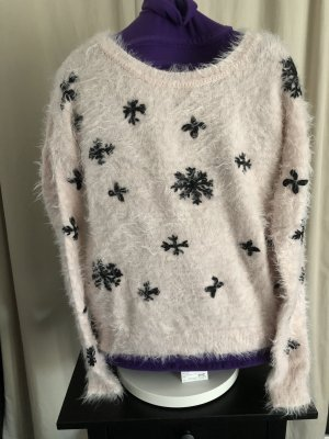 Only Christmasjumper light pink