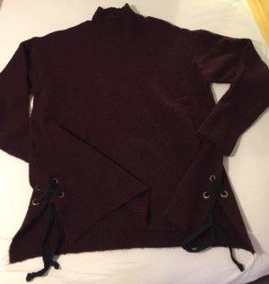 Pullover mit Schnürung in Gr. M