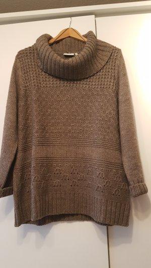 Pullover mit schönem Kragen,neuwertig,  Gr.44/46!