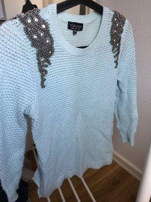 Pullover mit Schulterverzierungen von TOPSHOP