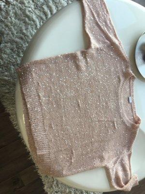 Pullover mit Silber Pailletten