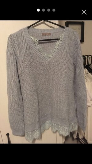 Orsay Knitted Sweater baby blue