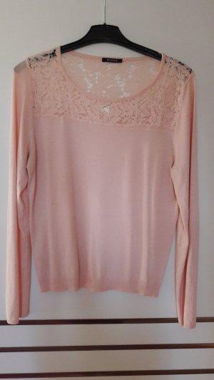 Pullover mit Spitze, Größe XL, Promod