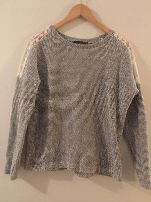 Pullover mit Spitze - Primark