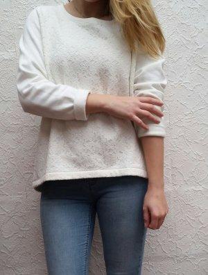 Pullover mit Spitzee