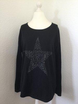 Pullover mit Stern von Street One in Gr. 40